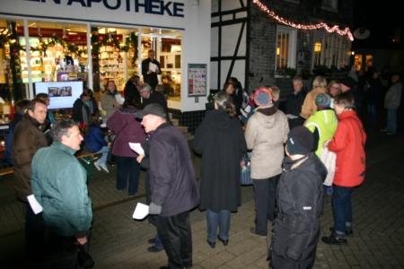 1. Dezember 2014, Kath. Kolping zu Gast bei der Schwanen Apotheke