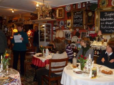 20. Dezember, Ev. Frauenhauskreis zu Gast im Nostalgie-Cafe Bergischer Hof