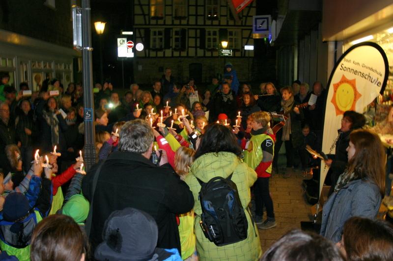 Die Sonnenschule zu Gast bei Gassmann(2. Dezember 2015)