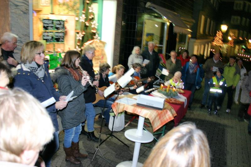 InTakt zu Gast bei Metzgerei Schmidt / Bäckerei Bär (8. Dezember 2015)