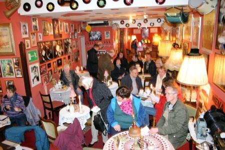 22. Dezember 2015, der lebendige Adventskalender zu Gast im Nostalgiecafe